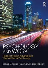 Psychology and Work PDF