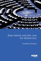 Hans Kelsen and the Case for Democracy PDF