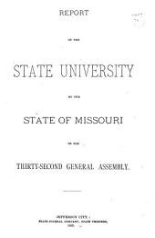 Financial Report of the Board of Curators of the University of Missouri to the ... General Assembly
