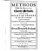 The methods used for erecting charity-schools