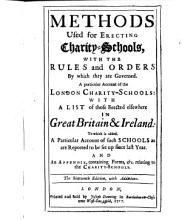 The methods used for erecting charity schools PDF