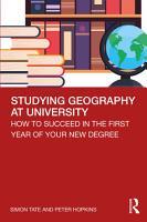 Studying Geography at University PDF