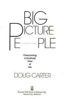 Big Picture People PDF