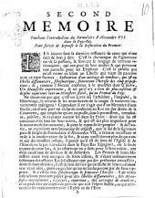 Second memoire touchant l'introduction du Formulaire d'Alexandre 7. dans le Pays-Bas. Pour servir de reponse à la refutation du premier