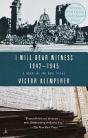I will bear witness PDF