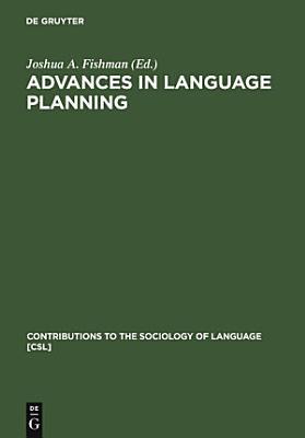 Advances in language planning PDF