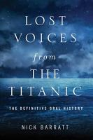 Lost Voices from the Titanic PDF