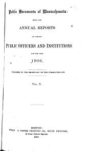 Public Documents of Massachusetts: Volume 10