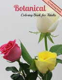 Botanical Coloring Book for Adults