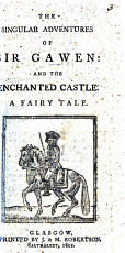 The Singular Adventures of Sir Gawen: and the Enchanted Castle. A Fairy Tale