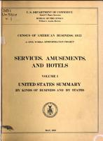 Census of American Business PDF