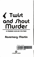 Twist and Shout Murder PDF