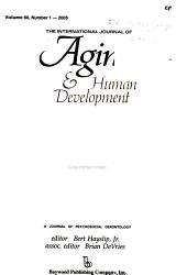 The International Journal of Aging   Human Development PDF