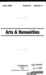 Current contents Arts and Humanities PDF