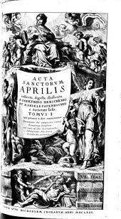 Acta Sanctorum Aprilis