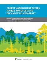 Forest Management Alters Forest Water Use and Drought Vulnerability