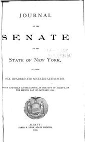 Journal of the Senate of the State of New York