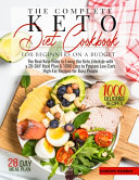 The Complete Keto Diet for Beginners on a Budget PDF