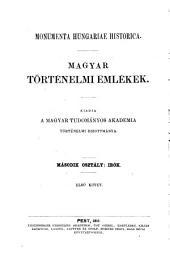 Emlékirata magyarország romlásáról: 1484 - 1543