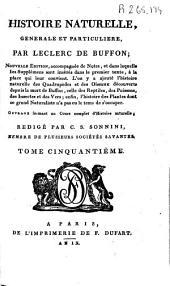 Histoire naturelle generale et particuliere: Volume50