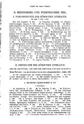 bd. Die literatur der republik. 1916. -2. bd. Die literatur von 31 vor Chr. bis 96 nach Chr. 1910. -3. bd. Die literatur von 96 nach Chr. bis zum ausgange des altertums. 1913