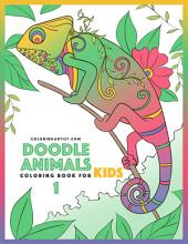 Doodle Animals Coloring Book for Kids 1