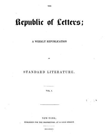 The Republic of Letters PDF