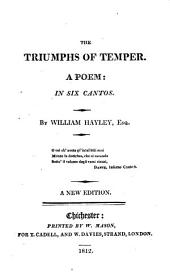 The triumphs of temper, a poem