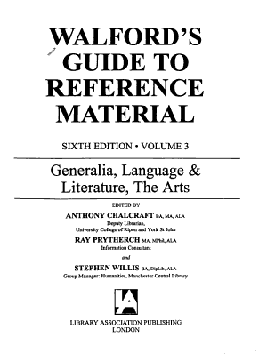 Generalia  Language   Literature  the Arts PDF