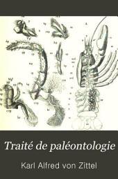 Traité de paléontologie: Partie2