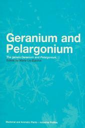 Geranium and Pelargonium: History of Nomenclature, Usage and Cultivation
