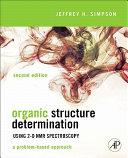 Organic Structure Determination Using 2-D NMR Spectroscopy