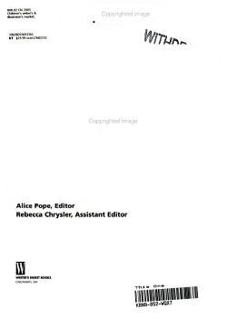 Children s Writer s and Illustrator s Market 2005 PDF