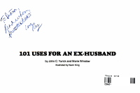 101 Uses for an Ex husband PDF