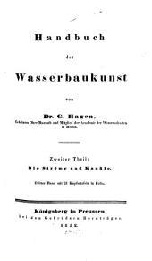 Handbuch der Wasserbaukunst: ¬Die Ströme, 3, Bände 2-3