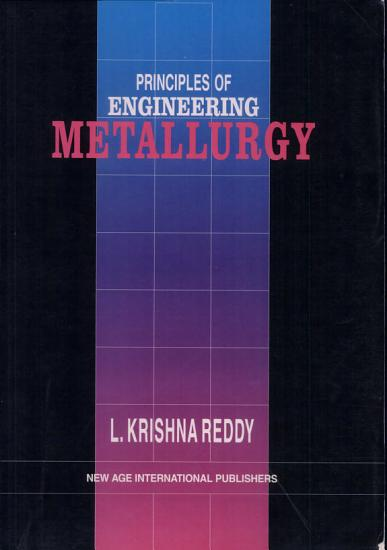 Principles of Engineering Metallurgy PDF