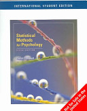 Statistical Methods for Psychology Book