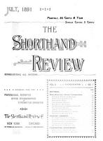 The Shorthand Review PDF