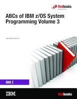 ABCs of IBM z OS System Programming PDF