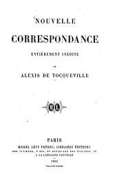 Oeuvres complètes: Nouvelle correspondance entièrement inédite, Volume7