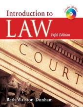 Introduction to Law: Edition 5