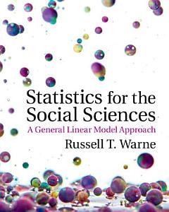 Statistics for the Social Sciences PDF