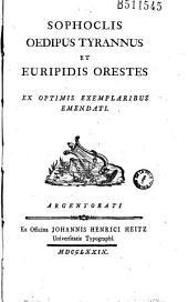 Sophoclis Oedipus tyrannus