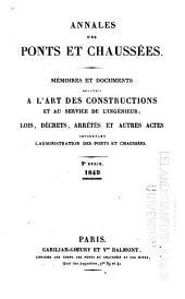 Annales des ponts et chaussées: 2e partie