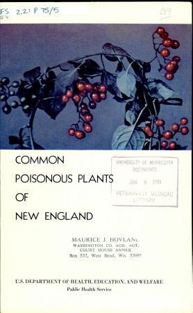 Common Poisonous Plants of New England PDF