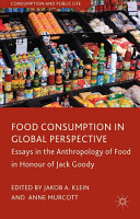 Food Consumption in Global Perspective PDF
