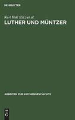 Luther und M  ntzer PDF