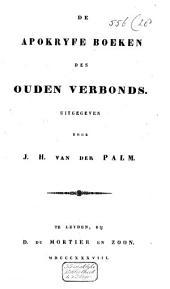 De Apokryfe boeken des Ouden Verbonds