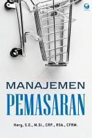 Manajemen Pemasaran PDF