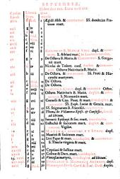 Breviarium Romanum: ex decreto Sacro-sancti Concilij Tridentini restitutum, Pii V Pont. Max. jussu editum et Clementis VIII primùm, nunc denuò Vrbani VIII, auctoritate recognitum